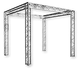 Structure aluminium Global Truss 290 modulable - matériel Animation Triangle